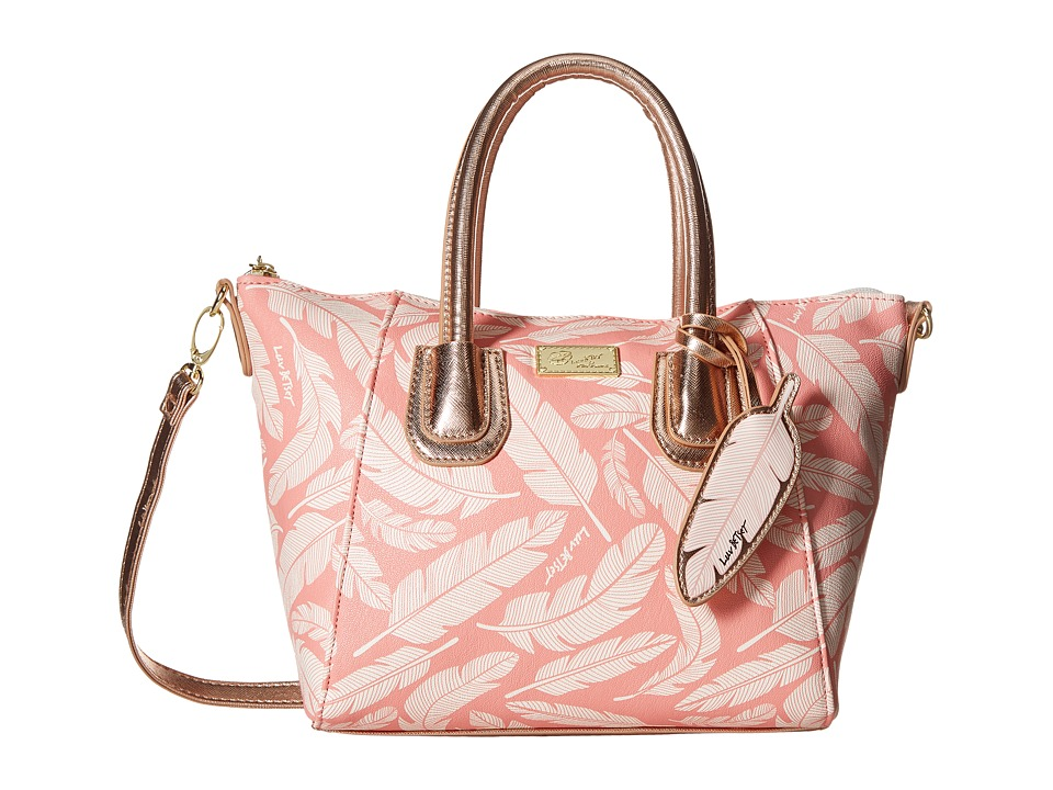 Luv Betsey - Giyaa Mini Satchel (Coral/Multi) Satchel Handbags