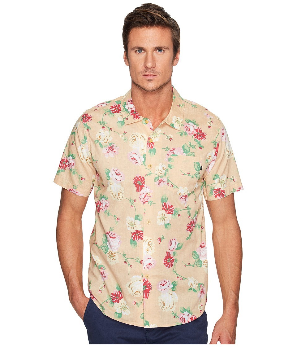 Obey - Moku Short Sleeve Woven (Sand/Multi) Men's T Shirt