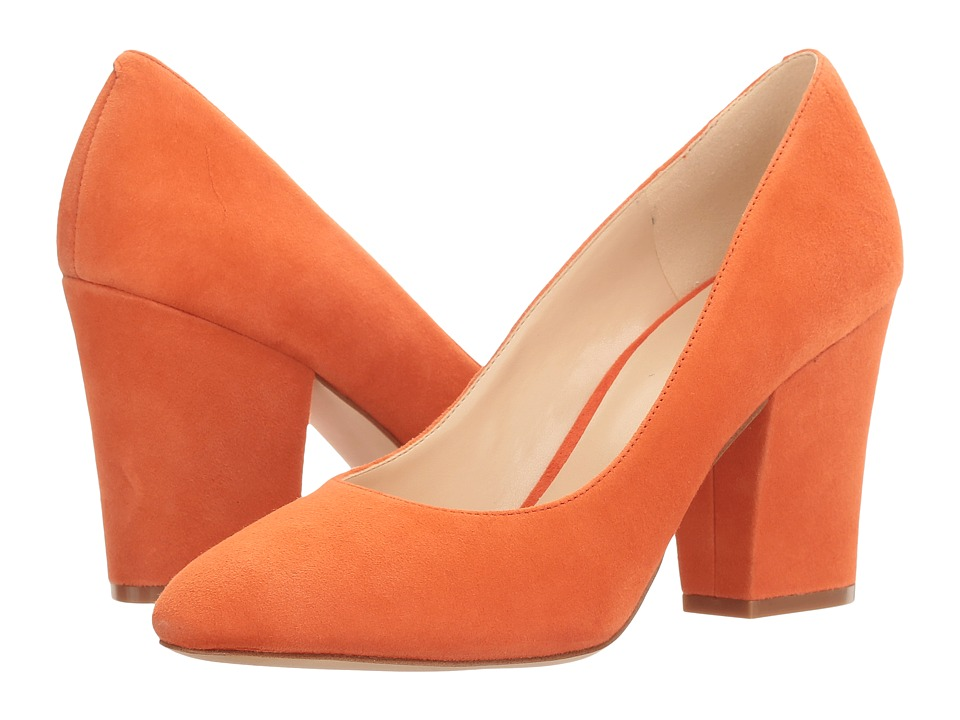 Nine West - Scheila (Orange Suede) High Heels