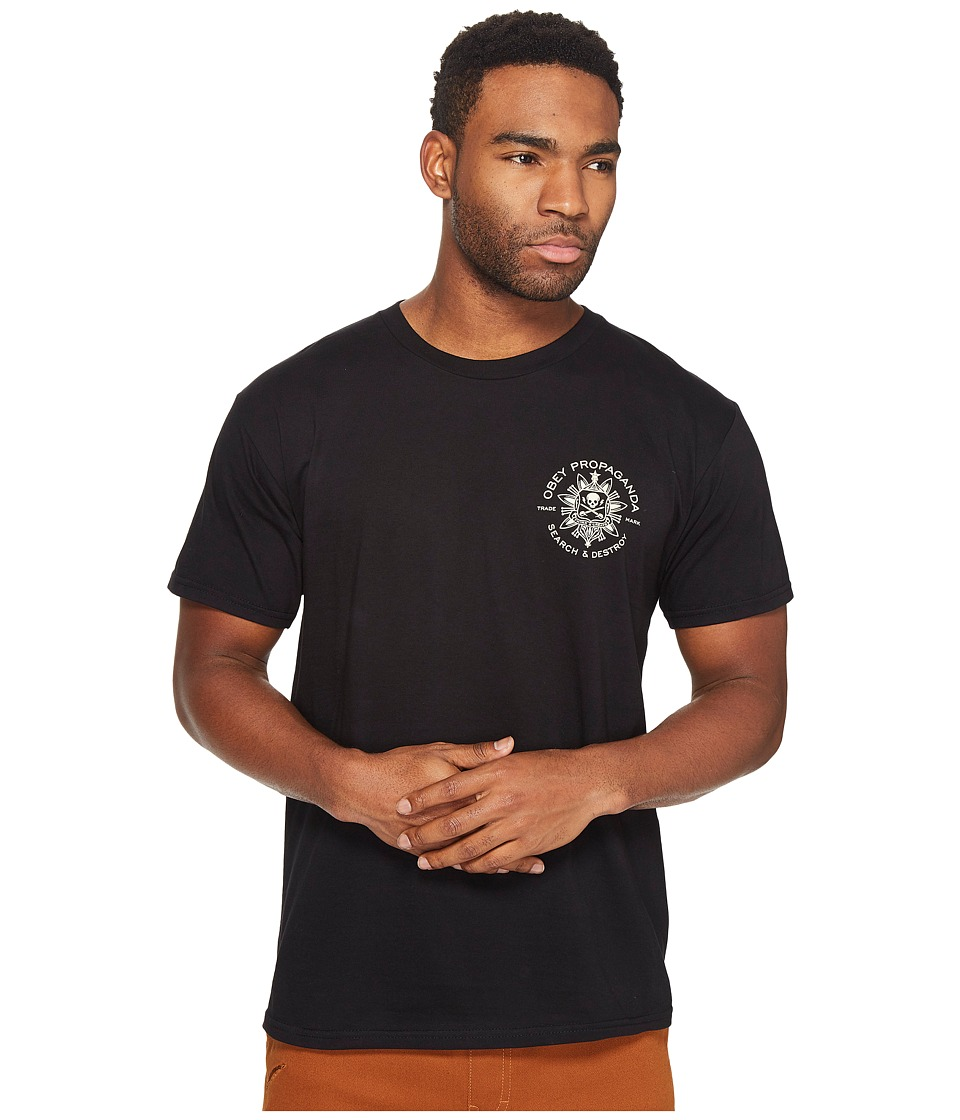 Obey - Think Create Tee (Black) Men's T Shirt