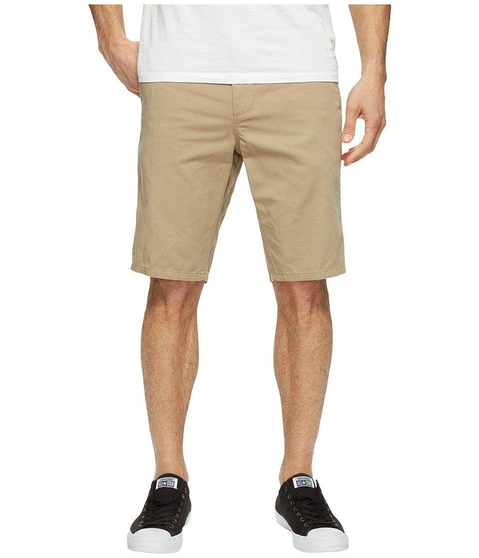 Obey - Straggler Shorts (Khaki) Men's Shorts