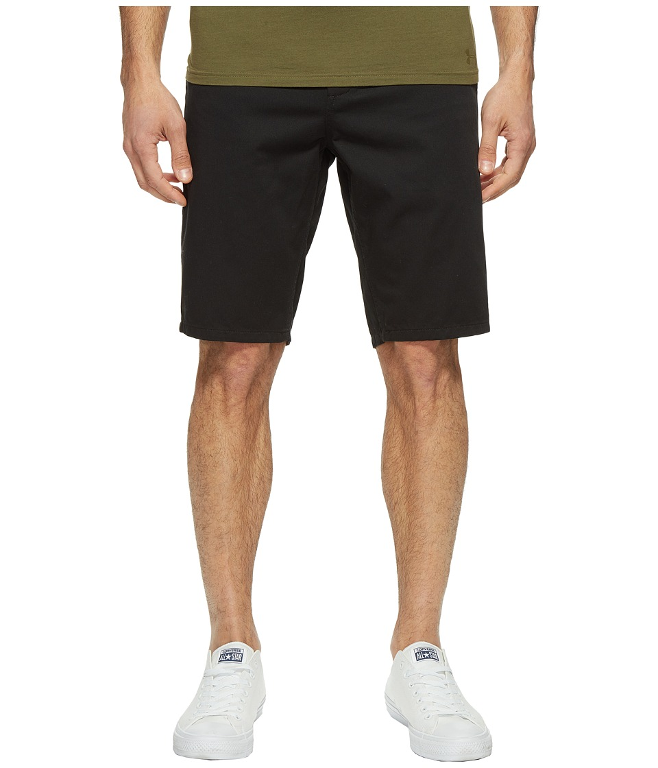 Obey Straggler Shorts (Black) Men
