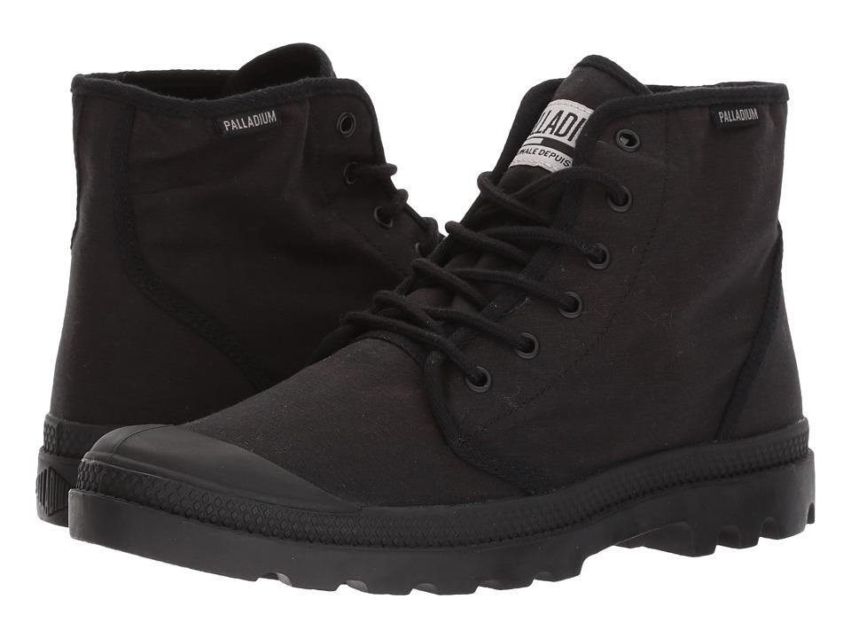 Palladium Pampa Hi Originale TC (Black/Black) Athletic Shoes