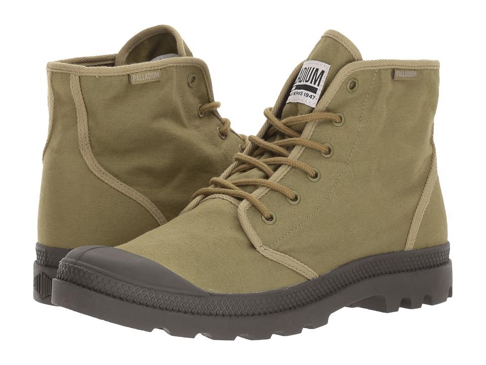 Palladium Pampa Hi Originale TC (Olive Drab/Beluga) Athletic Shoes