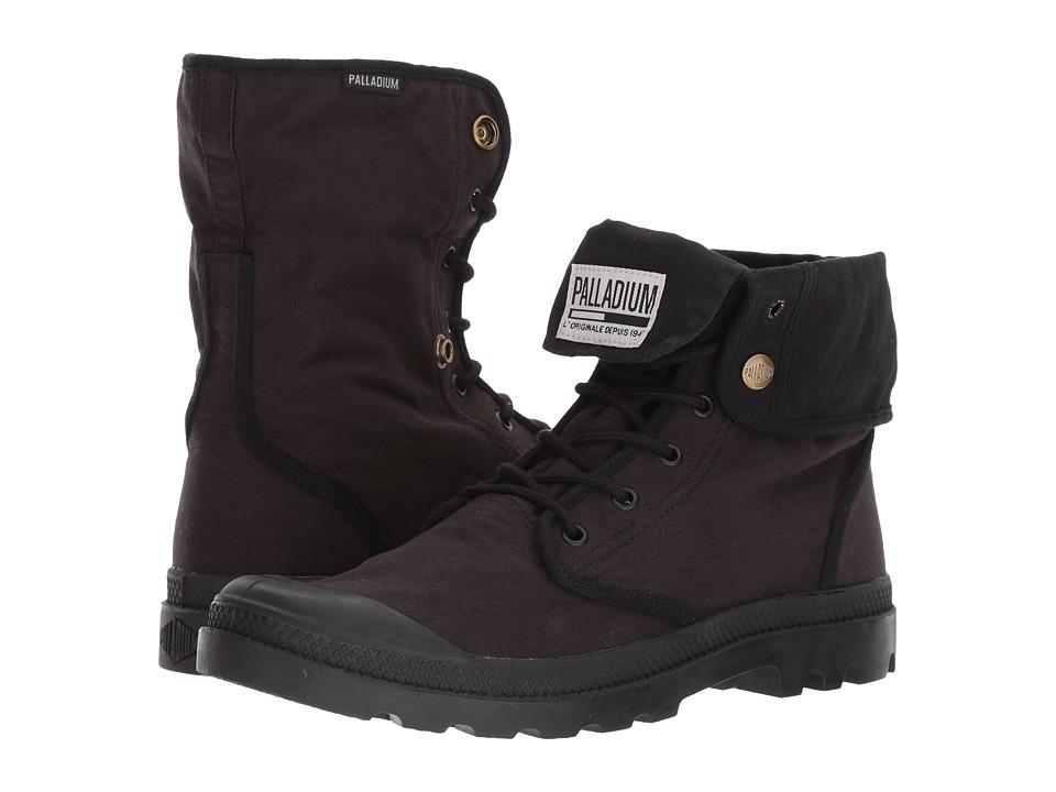 Palladium - Baggy Army TRNG Camp (Black/Black) Athletic Shoes