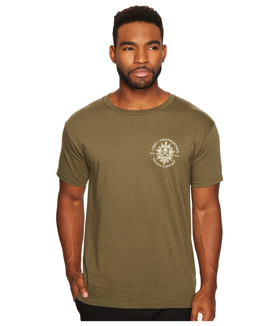 Obey - Think Create Tee (Olive) Men's T Shirt
