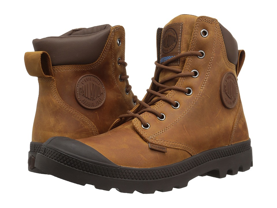 Palladium Pampa Cuff WP Lux (Sunrise/Carafe) Boots