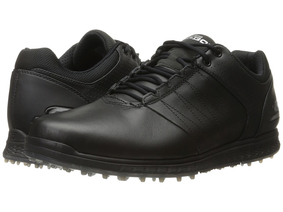 SKECHERS - Go Golf Elite 2 (Black/Silver) Men's Golf Shoes