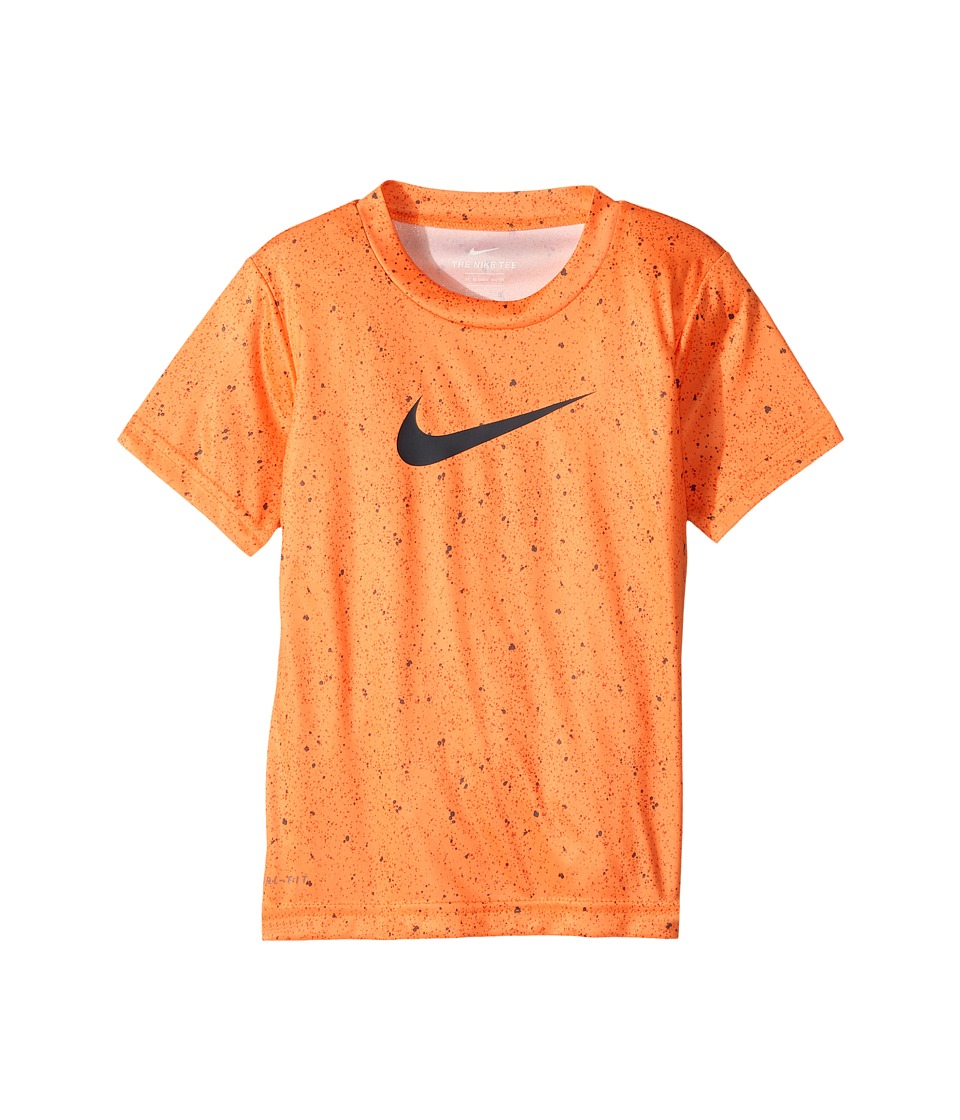 Nike Kids - Blacktop All Over Print Dri-Fit Tee (Toddler) (Tart) Boy's T Shirt