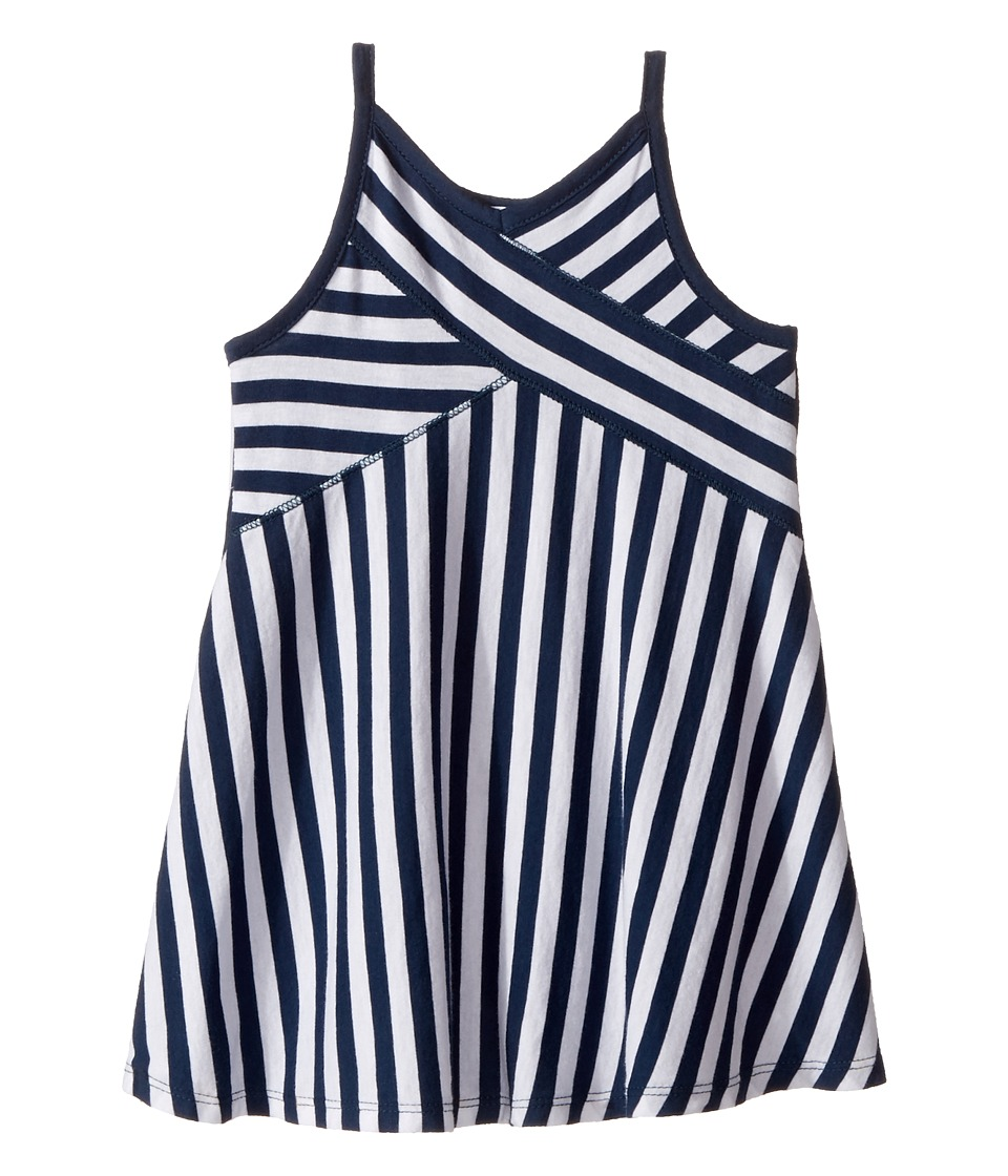 Splendid Littles - Always Striped Dress (Toddler) (Navy) Girl's Dress