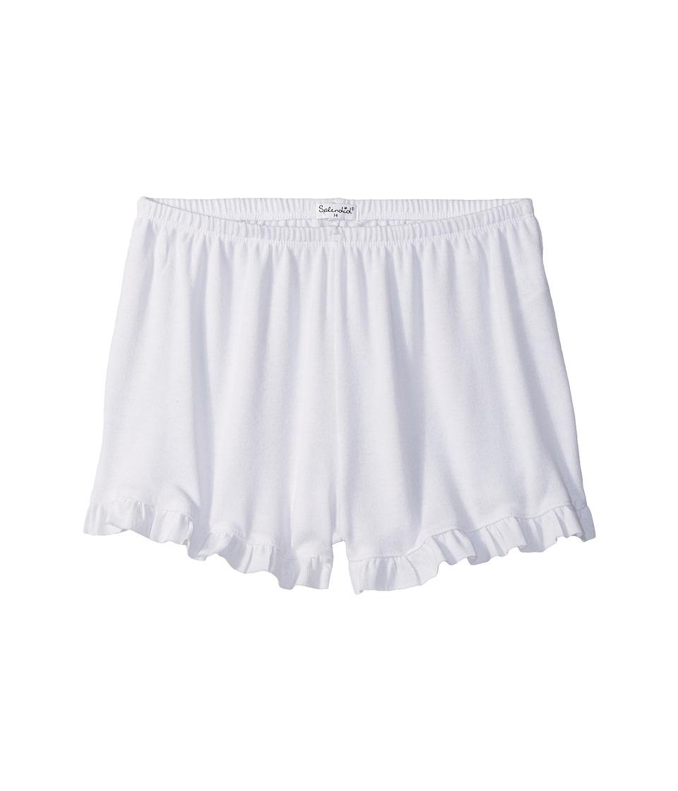 Splendid Littles - Always Shorts (Big Kids) (White) Girl's Shorts