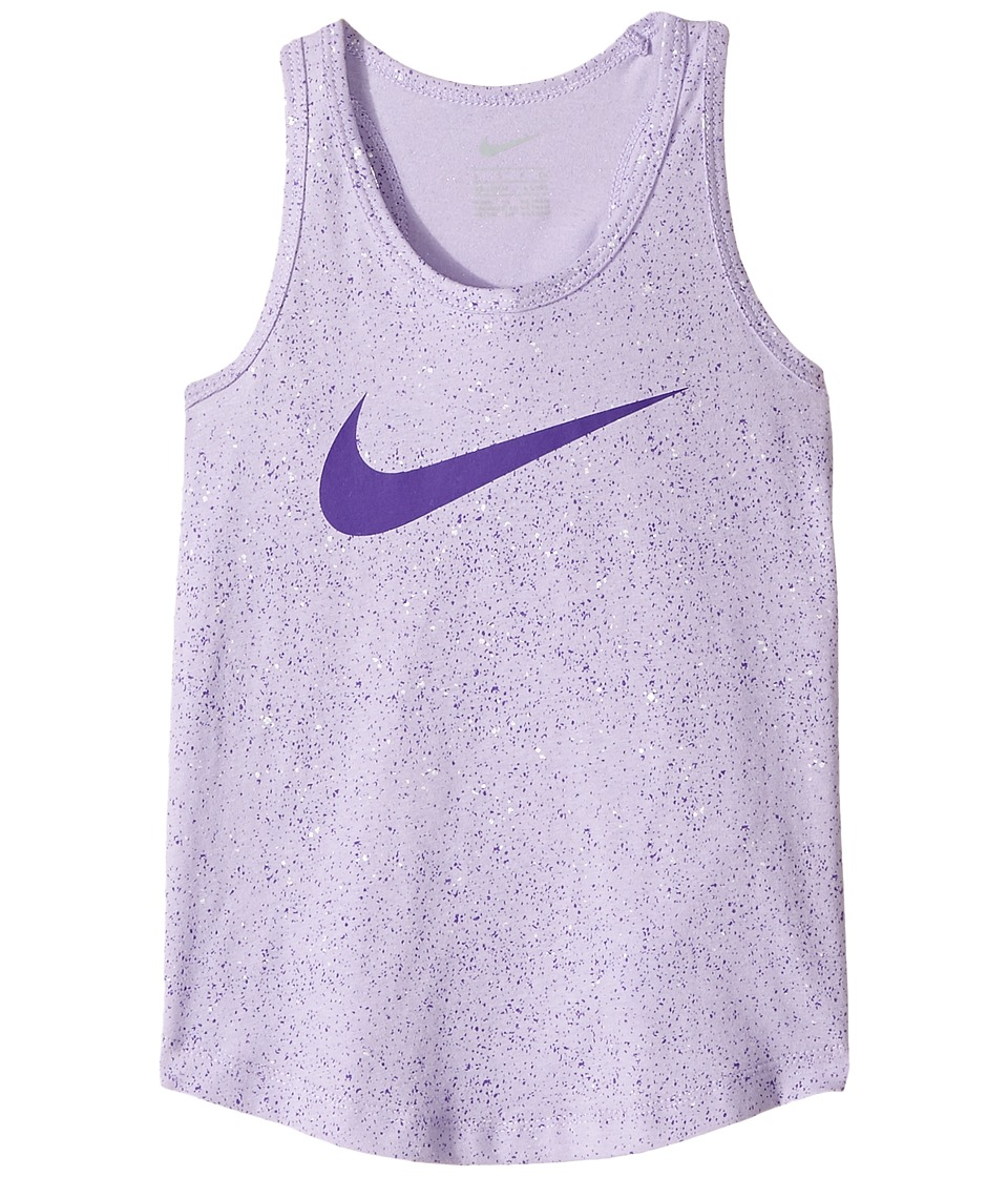 Nike Kids - Blacktop All Over Print A-Line Tank Top (Little Kids) (Hydrangeas) Girl's Sleeveless