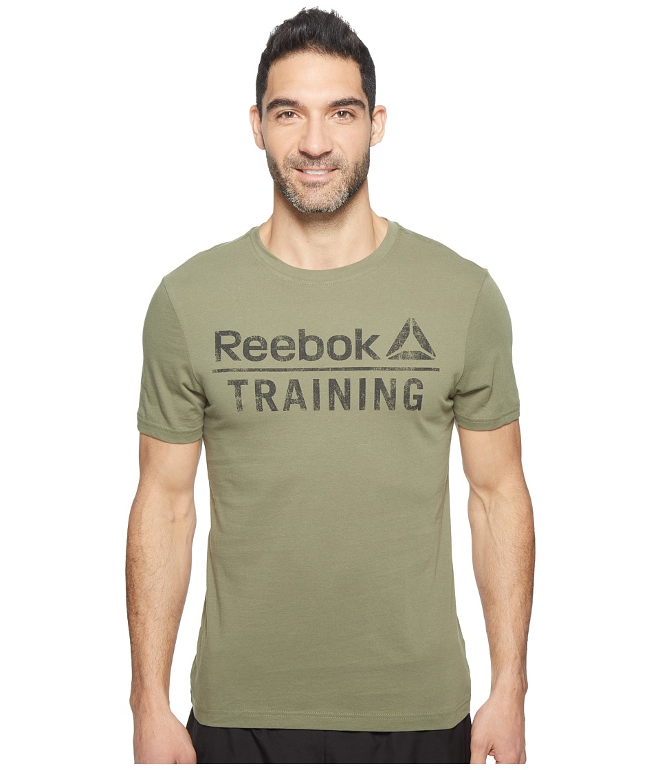 Reebok Training Tee (Canopy Green) Men