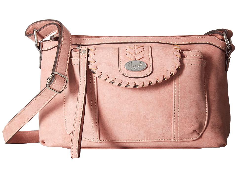 b.o.c. - Conroe Waltham Whip Merrimac w/ Wristlet (Solid Dark Pink) Wristlet Handbags