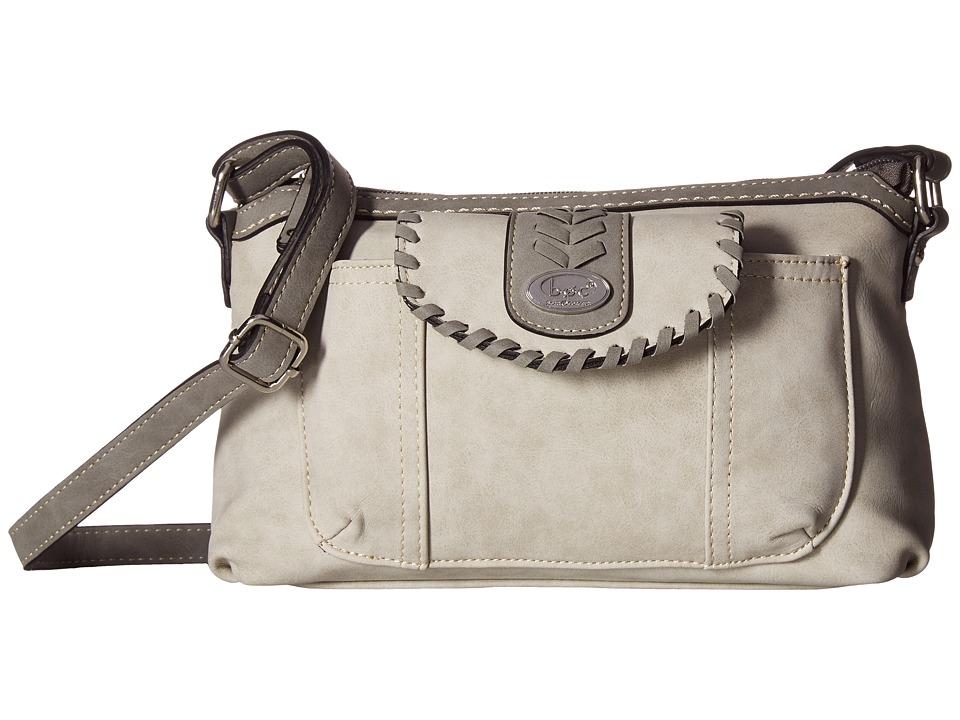 b.o.c. - Conroe Waltham Whip Merrimac w/ Wristlet (Dove/Elephant) Wristlet Handbags