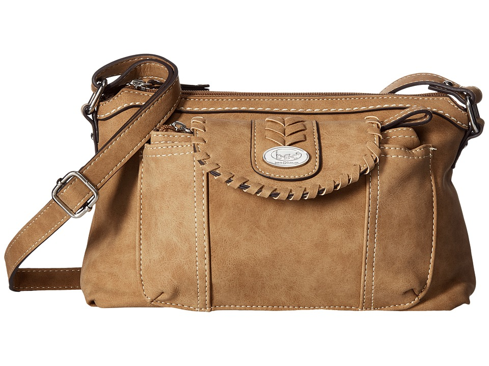 b.o.c. - Conroe Waltham Whip Merrimac w/ Wristlet (Solid Saddle) Wristlet Handbags