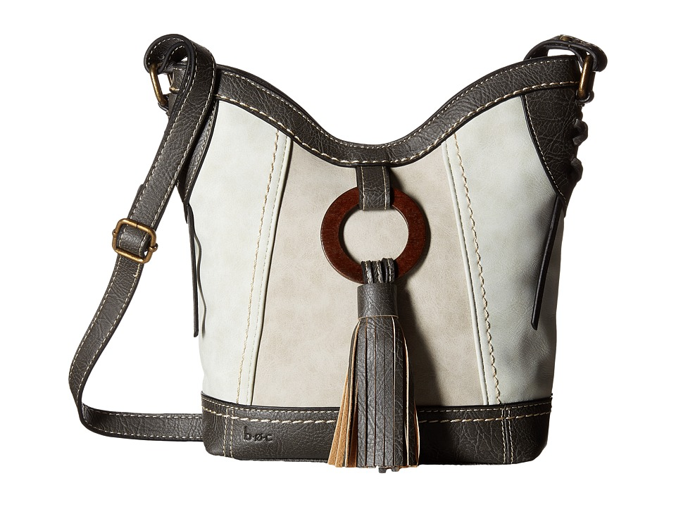 b.o.c. - Rock Rock Crossbody (Cement/Dove/Elephant) Cross Body Handbags