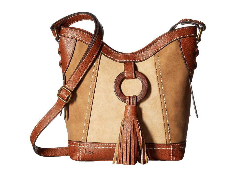 b.o.c. - Rock Rock Crossbody (Saddle/Stone/Walnut) Cross Body Handbags