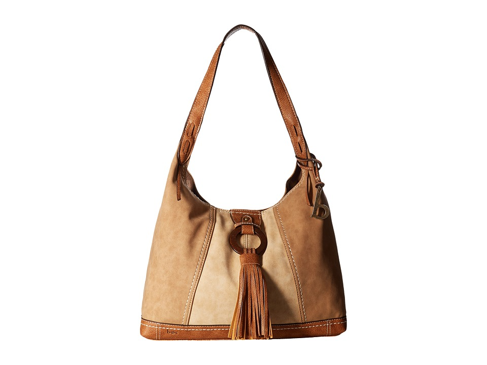 b.o.c. - Rock Rock 4 Poster (Saddle/Stone/Walnut) Handbags