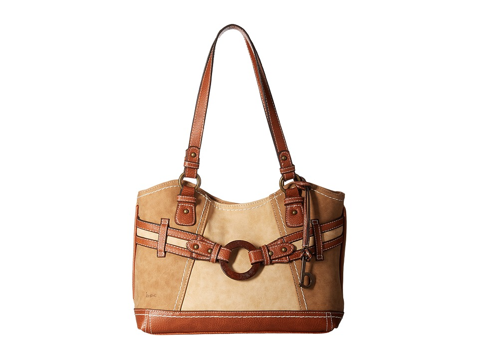 b.o.c. - Nayarit Buff Tote (Saddle/Stone/Walnut) Tote Handbags