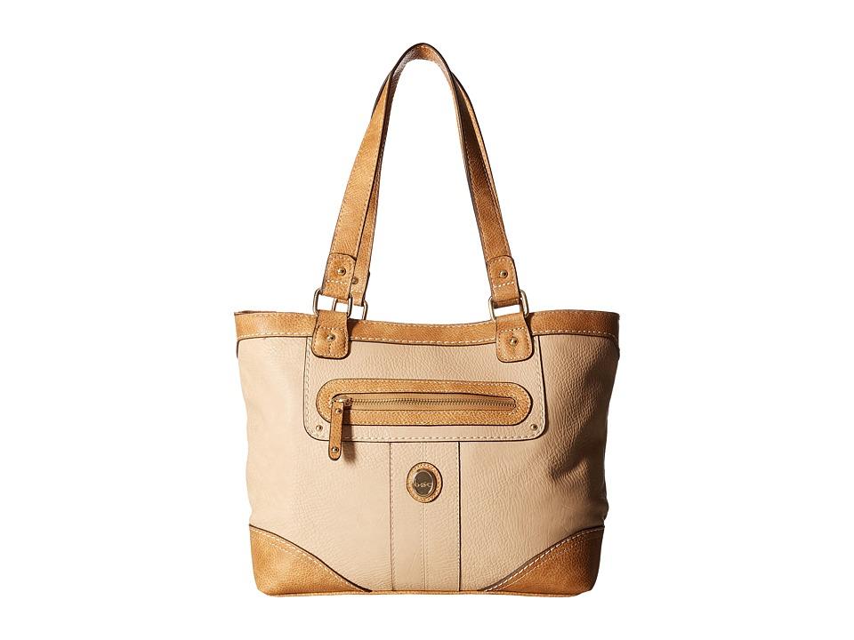 b.o.c. - Mcallister Tote (Stone/Saddle) Tote Handbags