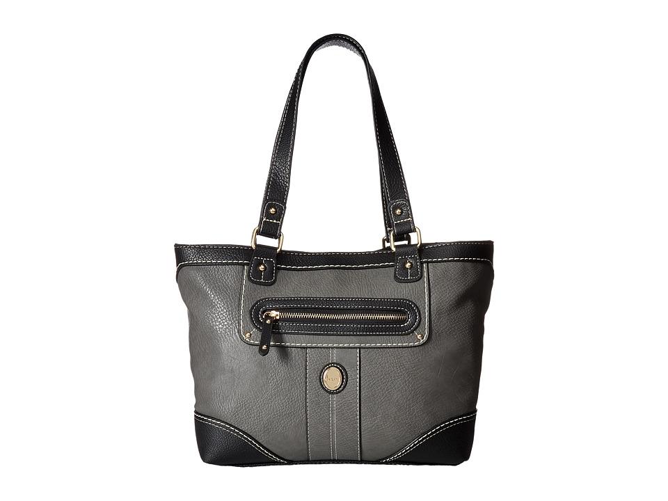 b.o.c. - Mcallister Tote (Elephant/Black) Tote Handbags