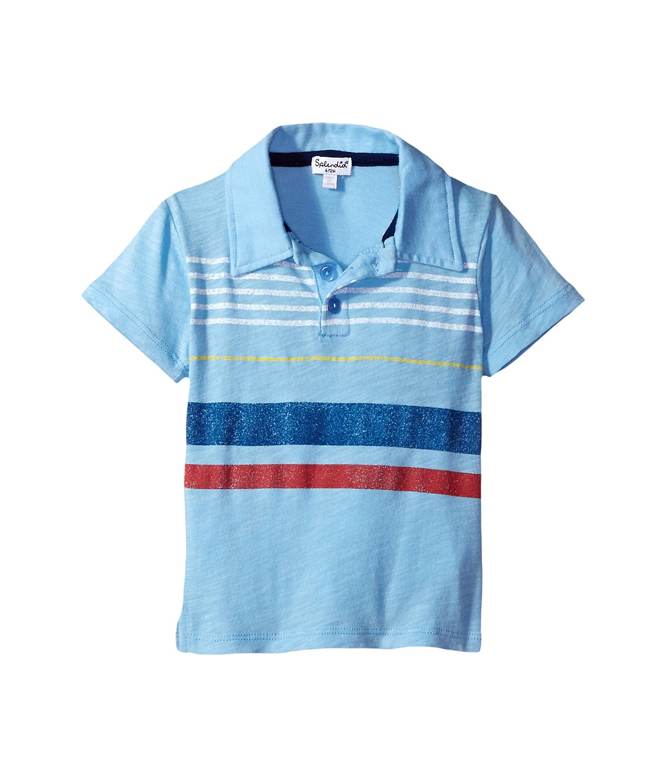 Splendid Littles - Polo Tee (Infant) (Light Blue) Boy's T Shirt