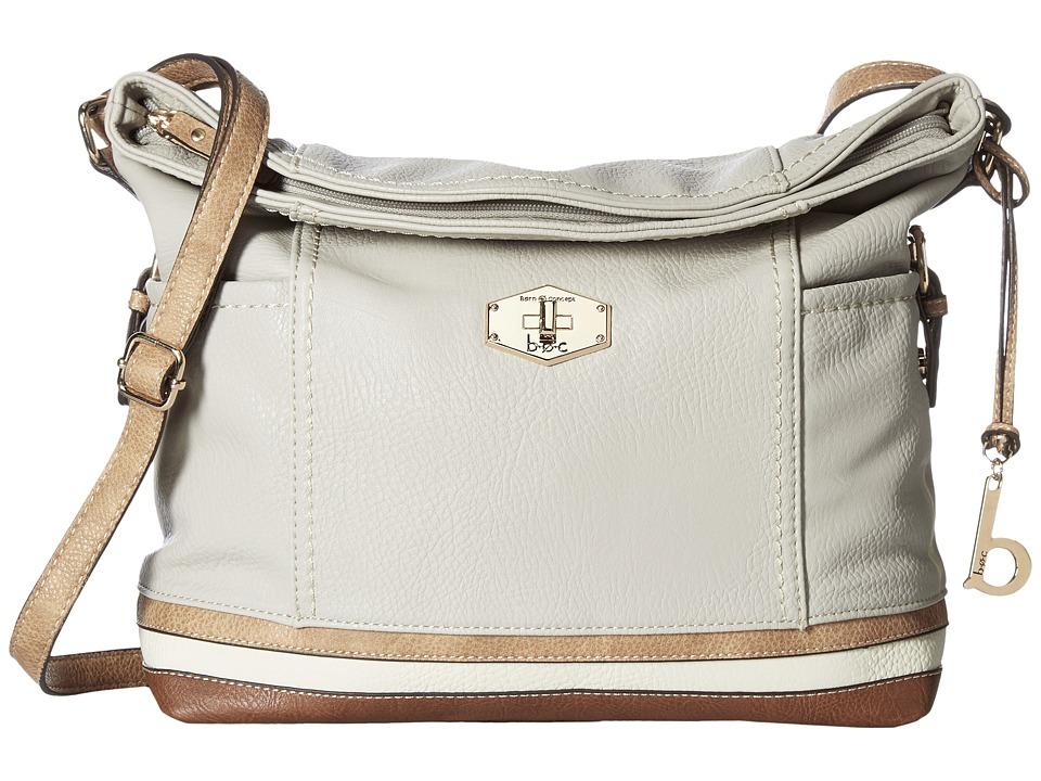 b.o.c. - Frisco Large Crossbody (Dove/Stone/Bone/Walnut) Cross Body Handbags