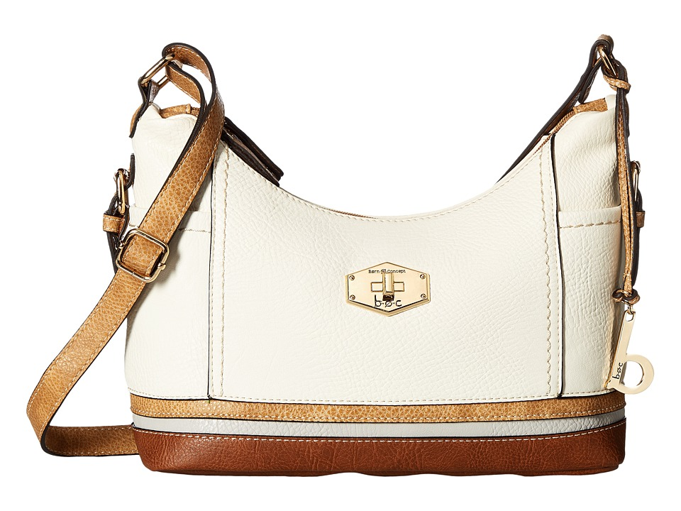 b.o.c. - Frisco Small Crossbody (Bone/Stone/Dove/Walnut) Cross Body Handbags