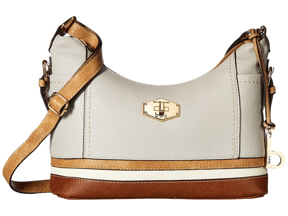 b.o.c. - Frisco Small Crossbody (Dove/Stone/Bone/Walnut) Cross Body Handbags