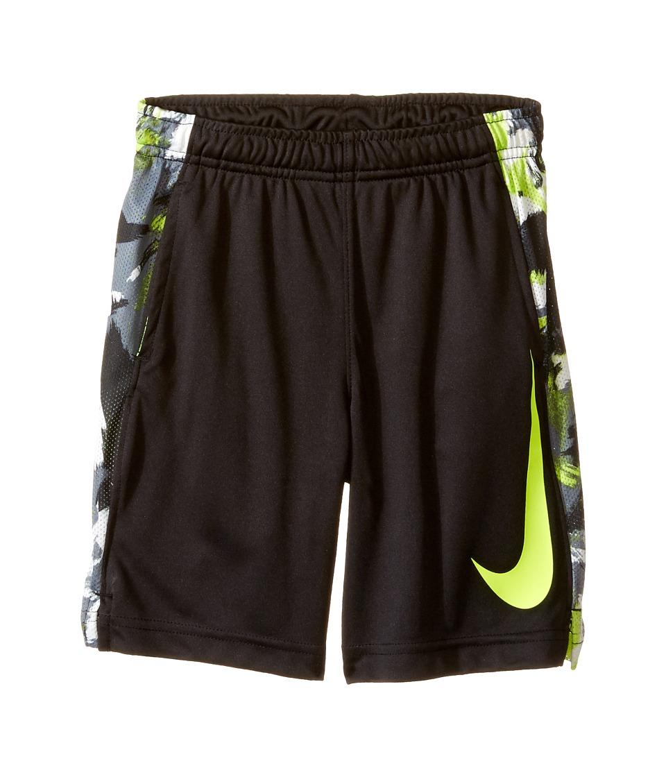 Nike Kids - Dri-FIT Legacy GFX Short (Little Kids) (Black/Volt) Boy's Shorts