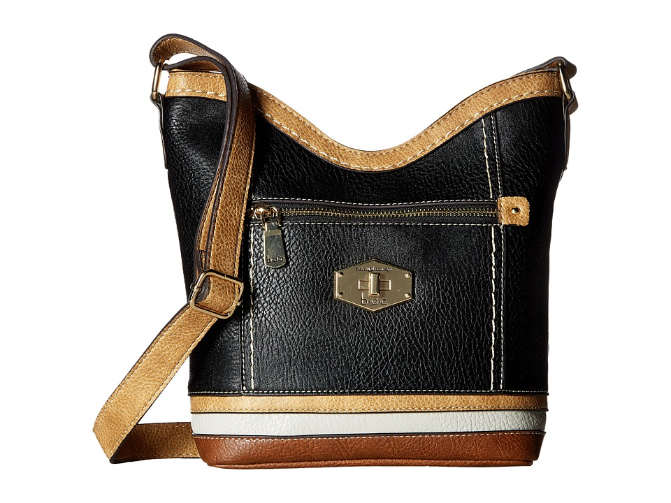 b.o.c. - Frisco Crossbody (Black/Stone/Dove/Walnut) Cross Body Handbags