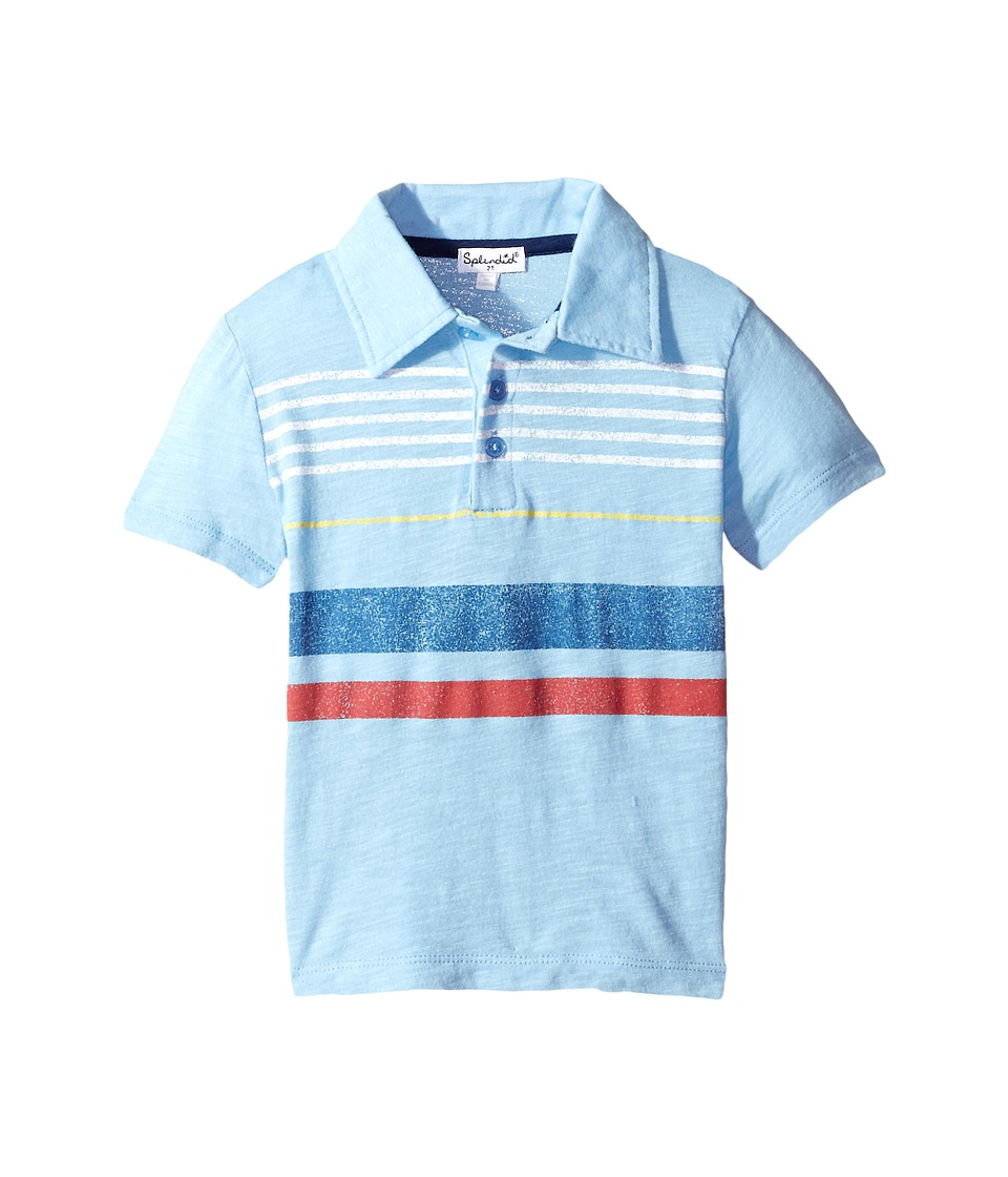 Splendid Littles - Polo Tee (Toddler) (Light Blue) Boy's T Shirt