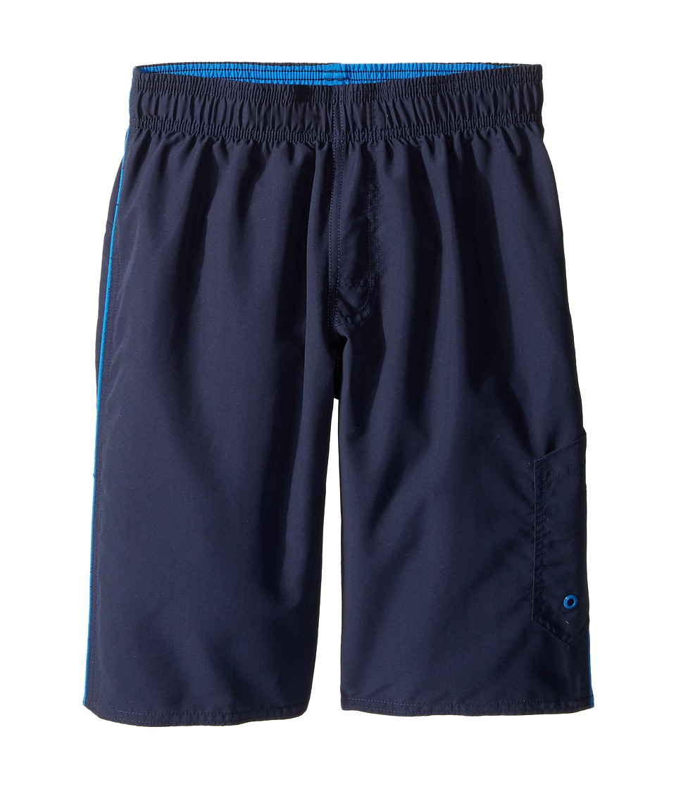 Speedo Kids - Marina Volley Shorts (Little Kids/Big Kids) (Washed Navy) Boy's Swimwear
