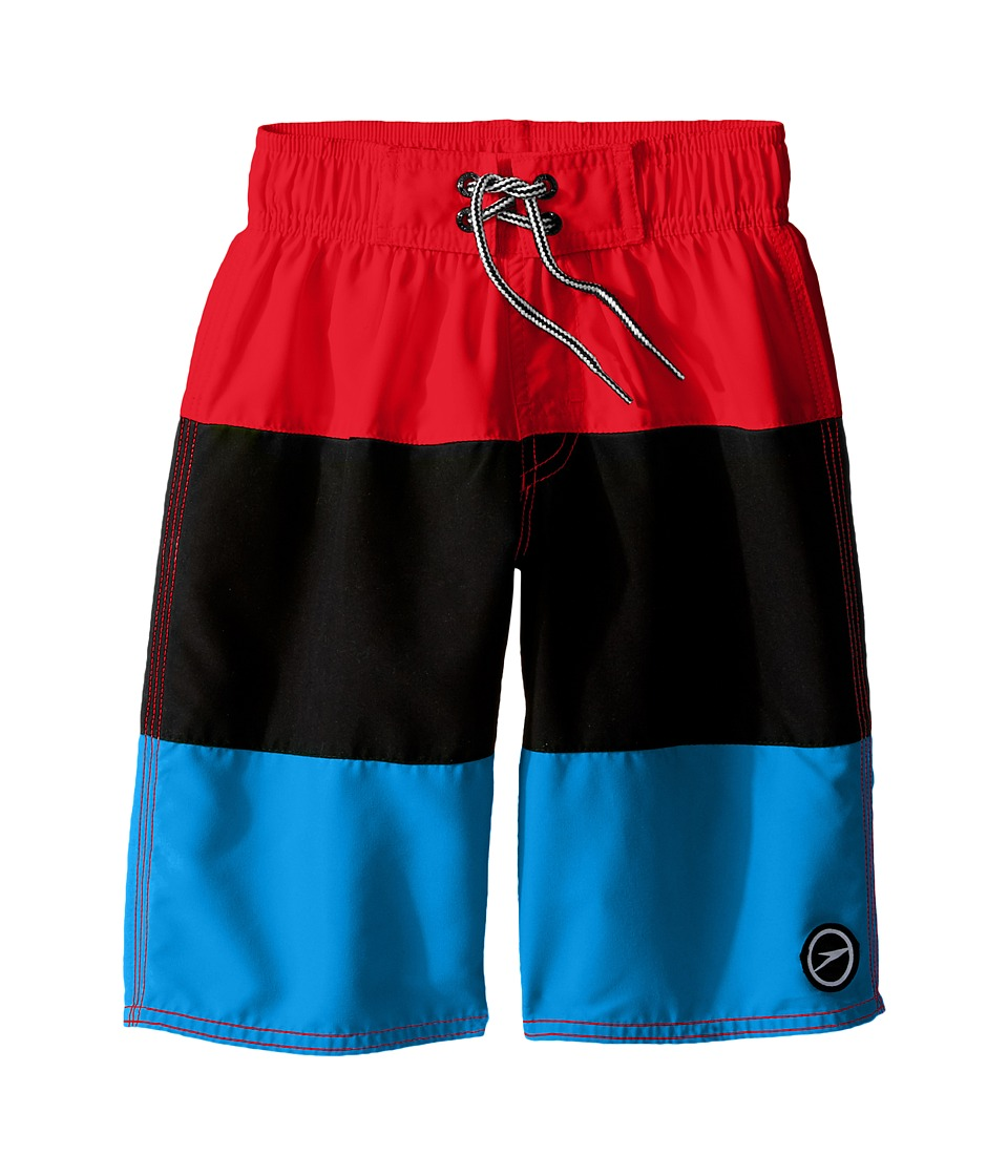 Speedo Kids - Blocked Volley Shorts (Little Kids/Big Kids) (Atomic Red) Boy's Swimwear