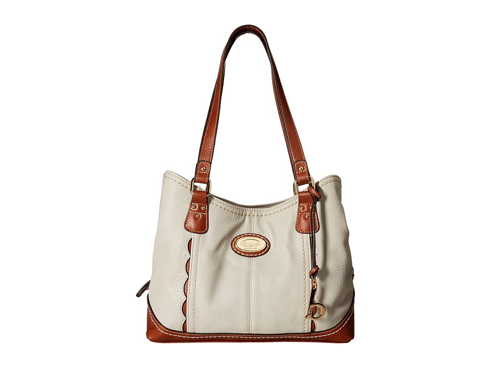 b.o.c. - Carrollton 4 Poster (Dove/Saddle) Handbags