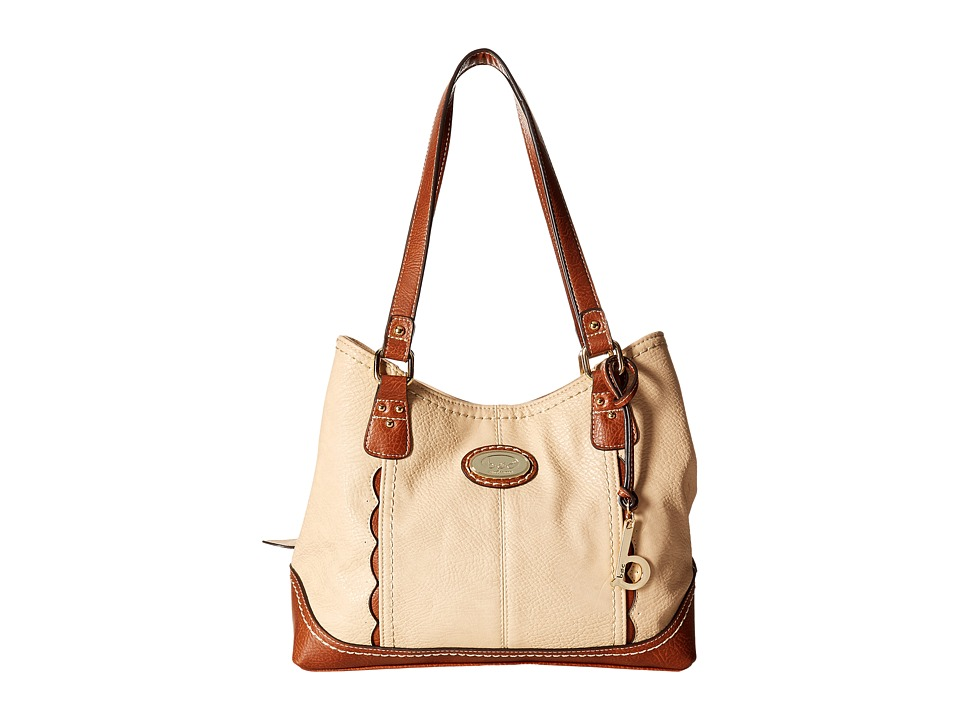 b.o.c. - Carrollton 4 Poster (Stone/Saddle) Handbags