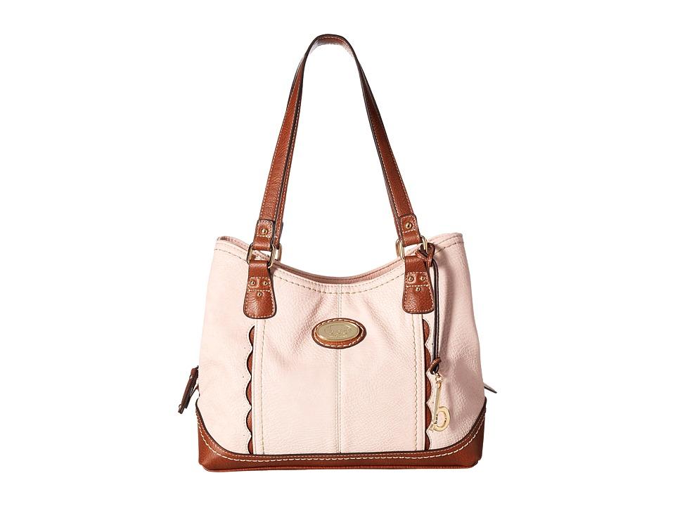 b.o.c. - Carrollton 4 Poster (Blush/Saddle) Handbags