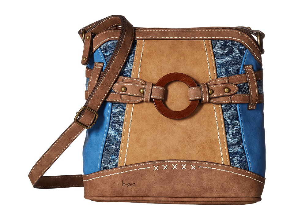b.o.c. - Garland Crossbody (Ink/Saddle/Chocolate) Handbags