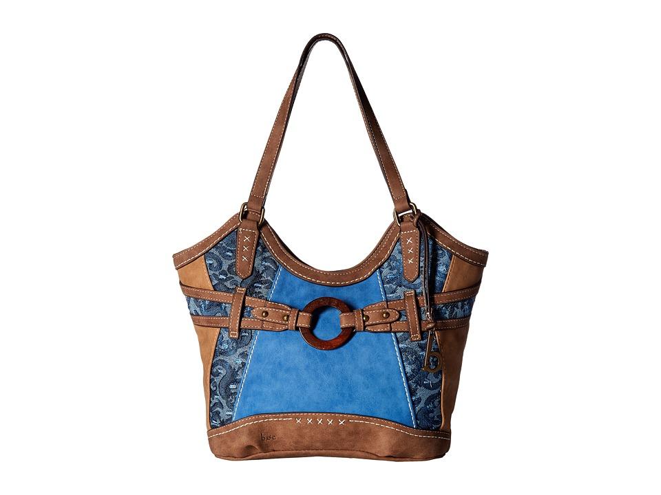 b.o.c. - Garland 4 Poster (Saddle Ink/Chocolate) Handbags