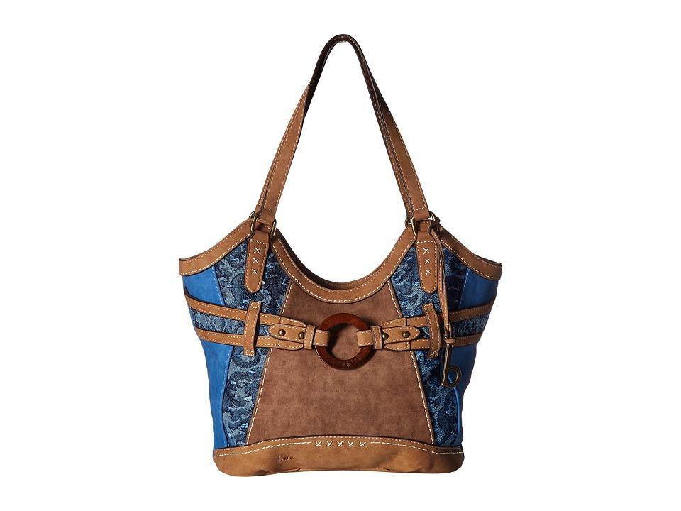 b.o.c. - Garland 4 Poster (Ink/Chocolate/Saddle) Handbags