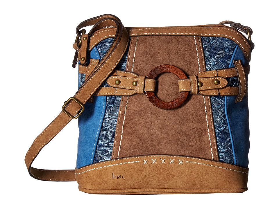 b.o.c. - Garland Crossbody (Ink/Chocolate/Saddle) Handbags