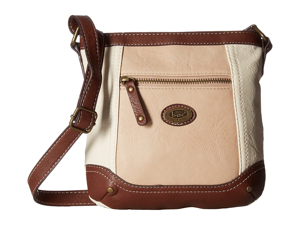 b.o.c. - Oberon Power Bank Crossbody (Bone/Stone/Saddle) Cross Body Handbags