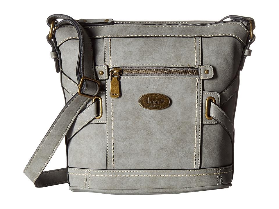 b.o.c. - Park Slope Crossbody (Elephant) Cross Body Handbags