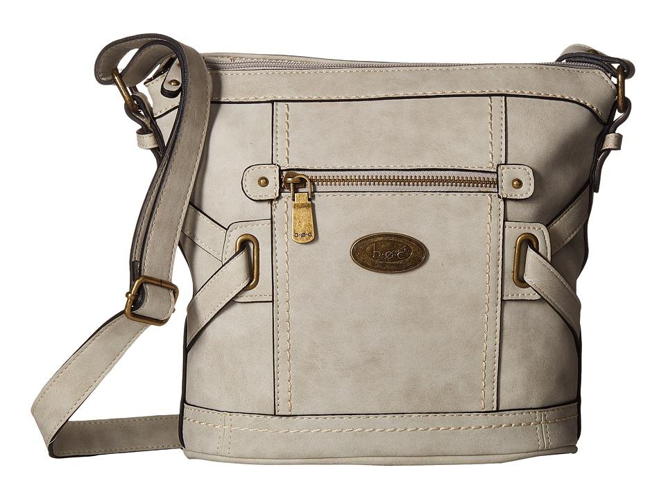 b.o.c. - Park Slope Crossbody (Dove) Cross Body Handbags