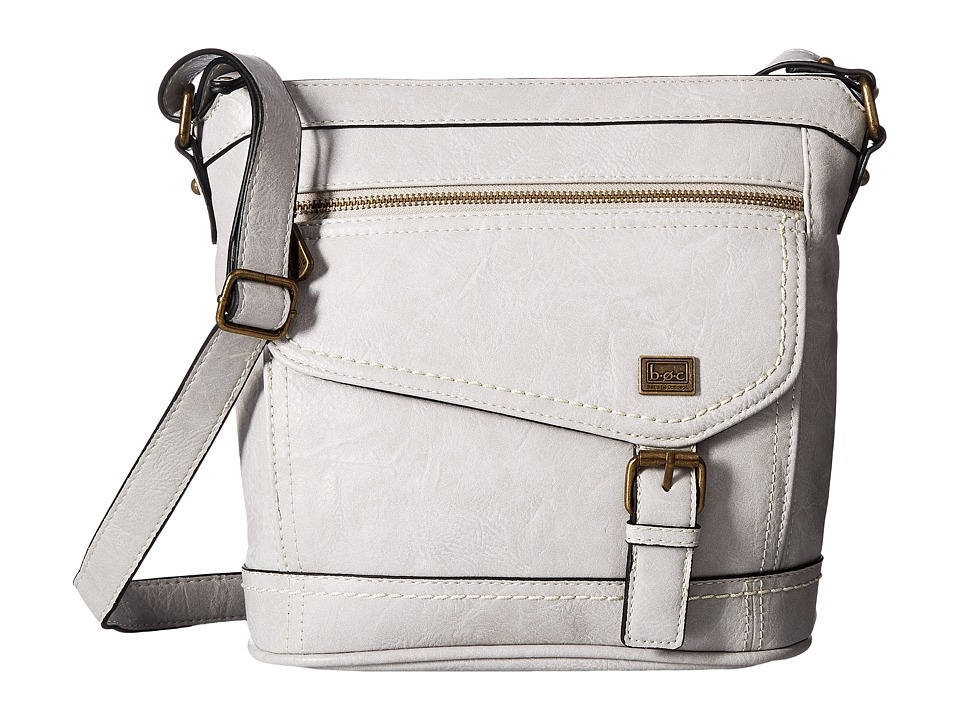 b.o.c. - Amherst Crossbody (Dove) Cross Body Handbags