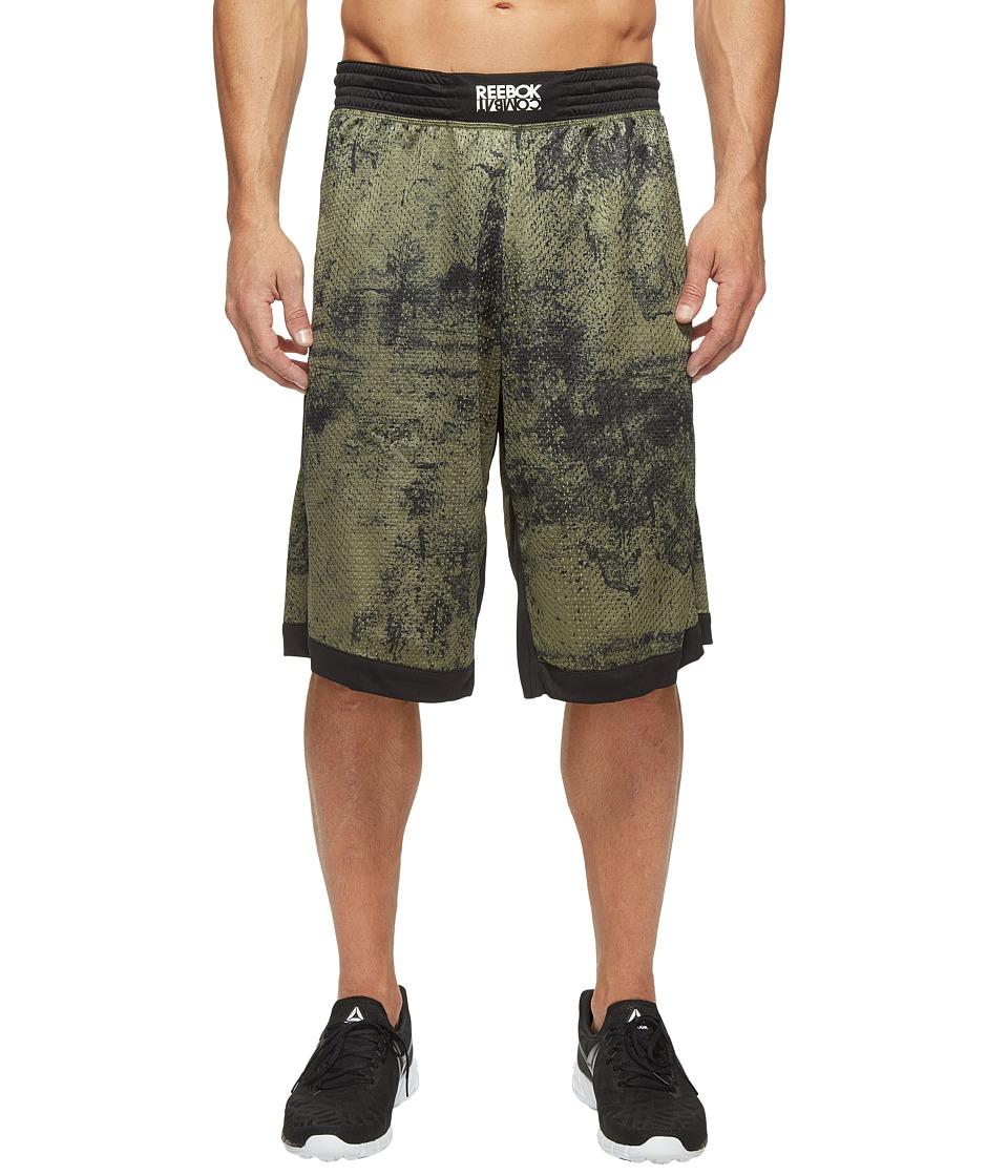 Reebok - RNF Boxing Short Leggings 13 (Canopy Green) Men's Casual Pants