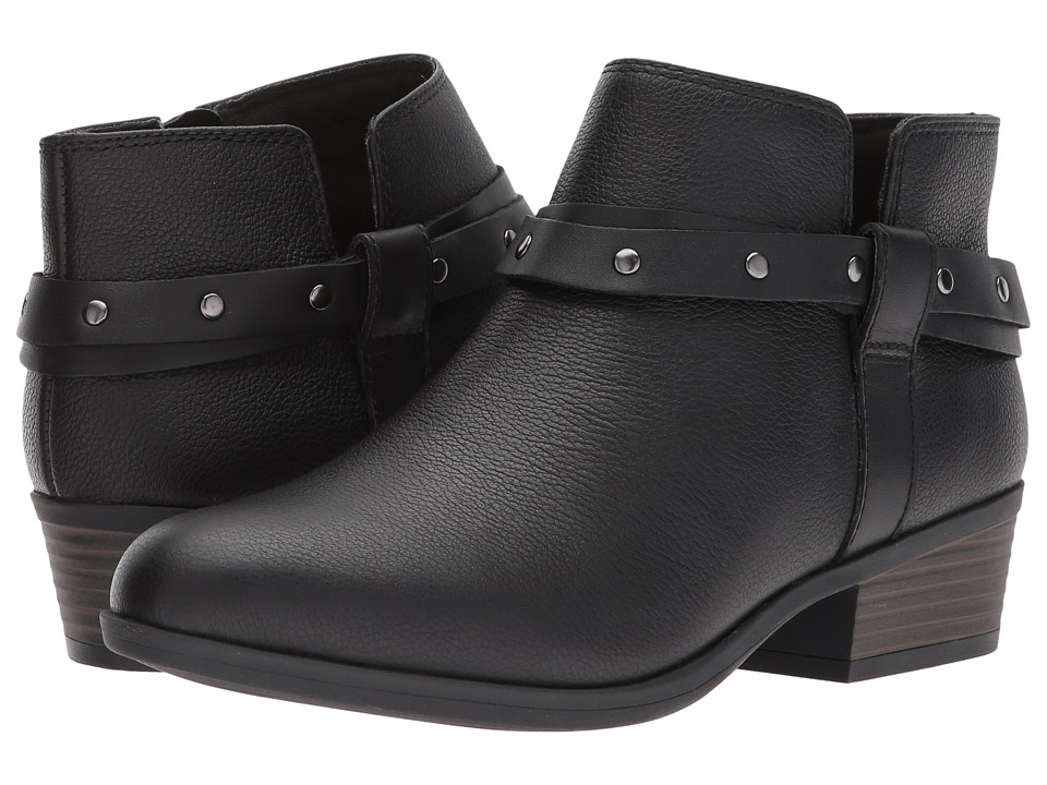 Clarks Addiy Zoie (Black Leather) Women