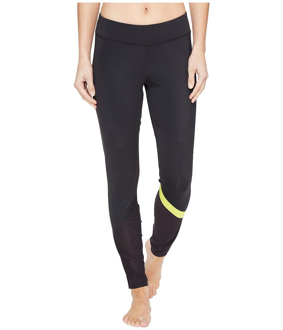 Reebok - Pinnacle Tights (Black) Women's Casual Pants