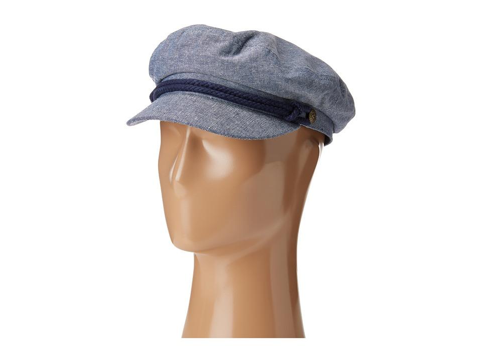 Brixton - Fiddler (Light Blue/Navy 1) Traditional Hats